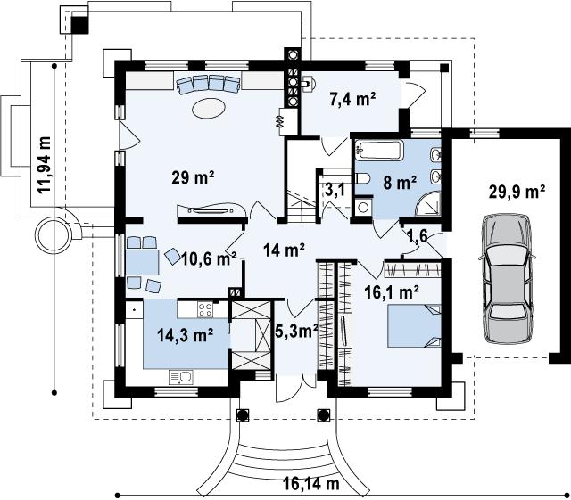 Z109 планировка 1