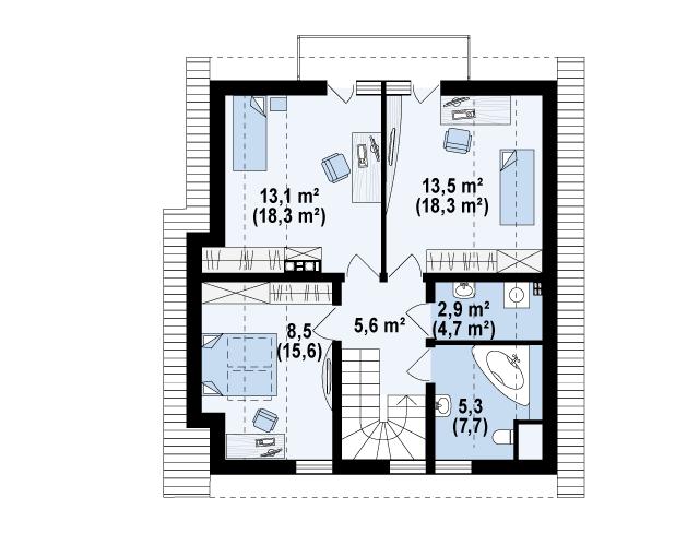 Z134 планировка 3