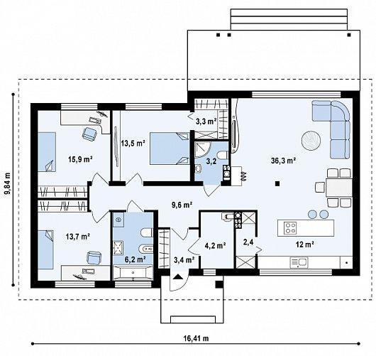 Z140v1 планировка 2
