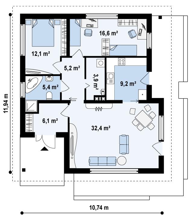 Z141 планировка 1