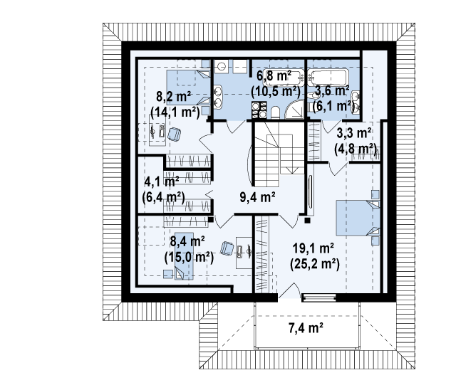 Z143 планировка 3