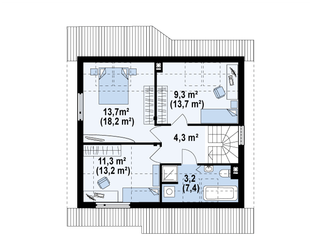Z146 планировка 3