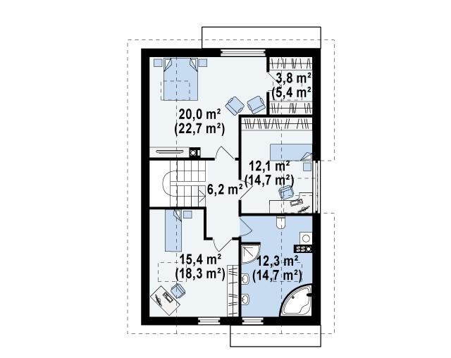 Z154 планировка 2