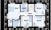 Планировака дома Z159