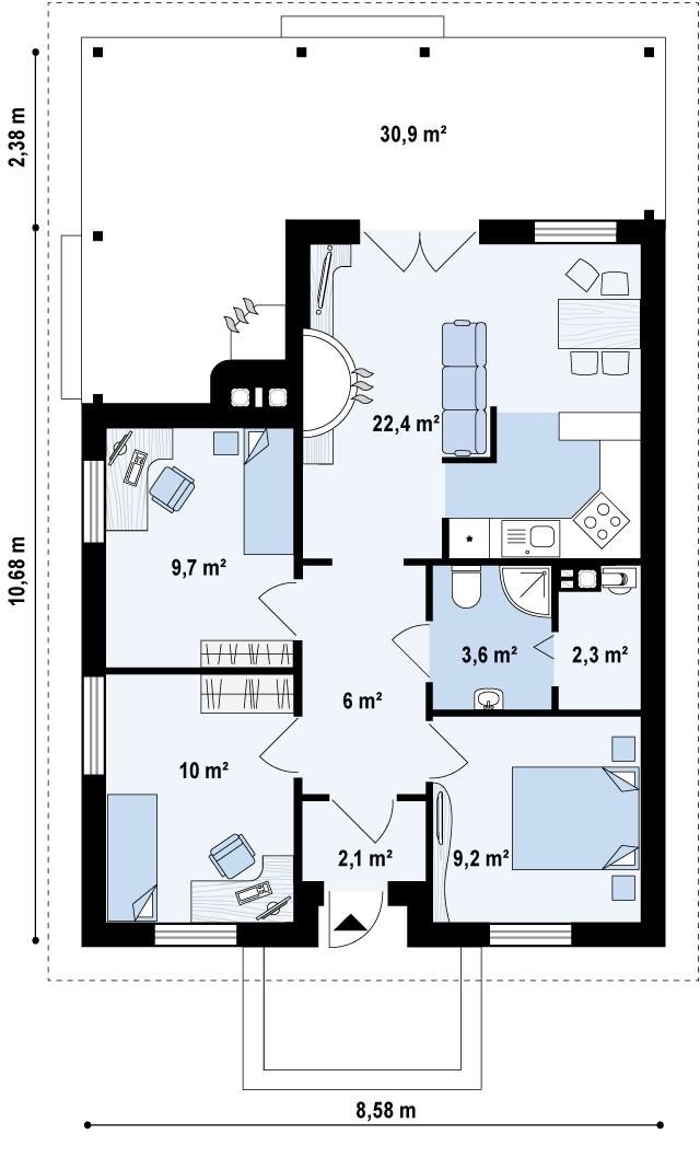 Z16 планировка 1