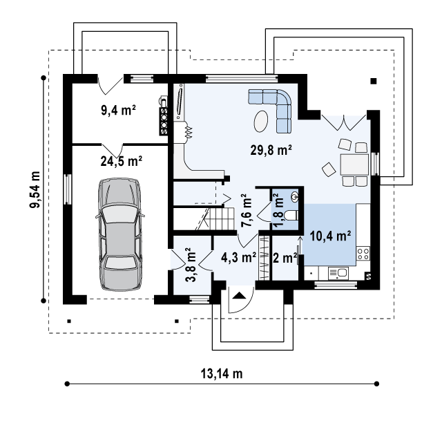 Z172 планировка 1