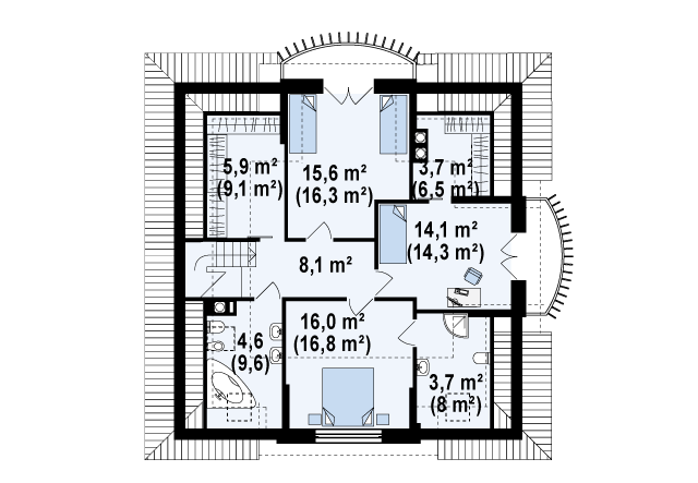 Z18 планировка 3