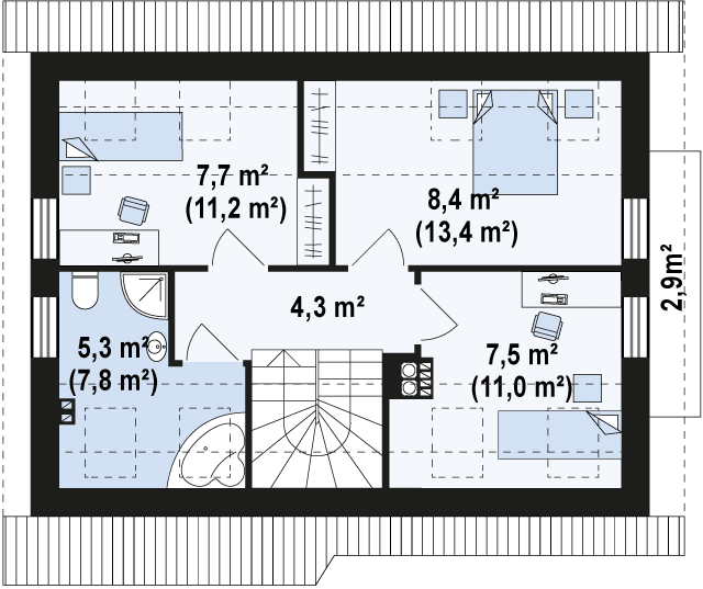 Z216 планировка 2