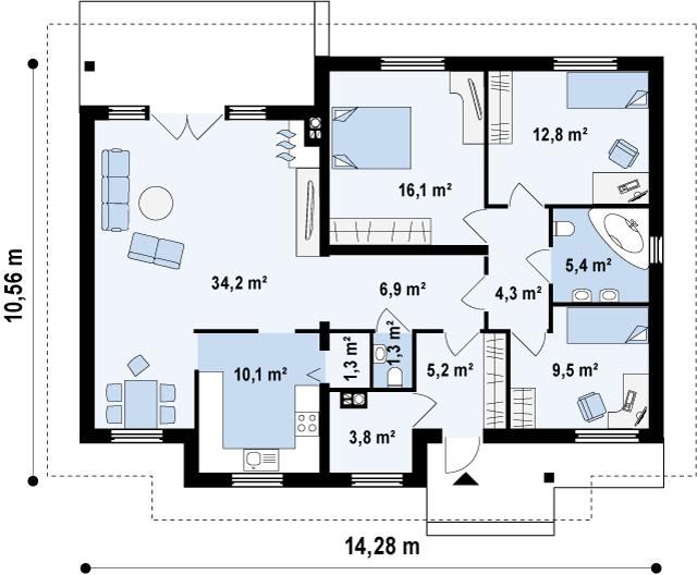 Z23 планировка 2