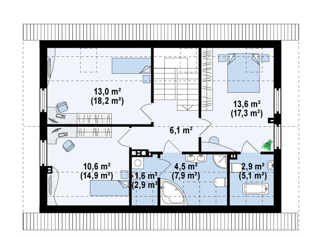 Z244 планировка 3