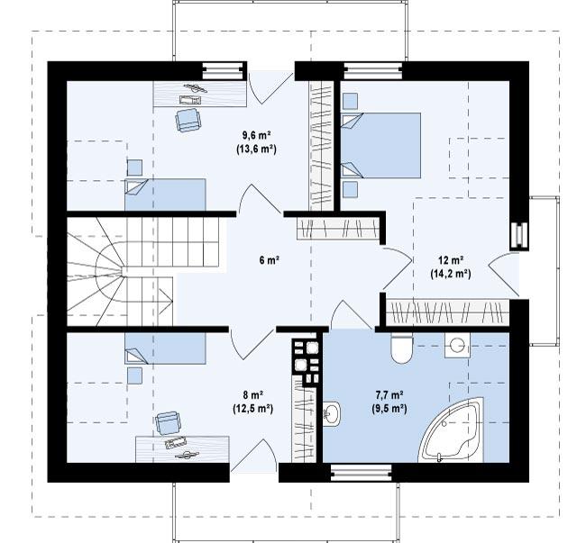 Z245 планировка 3