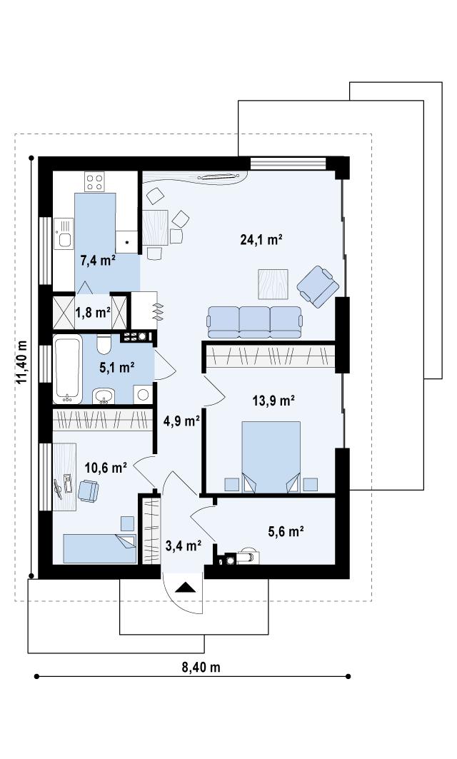 Z254 планировка 1