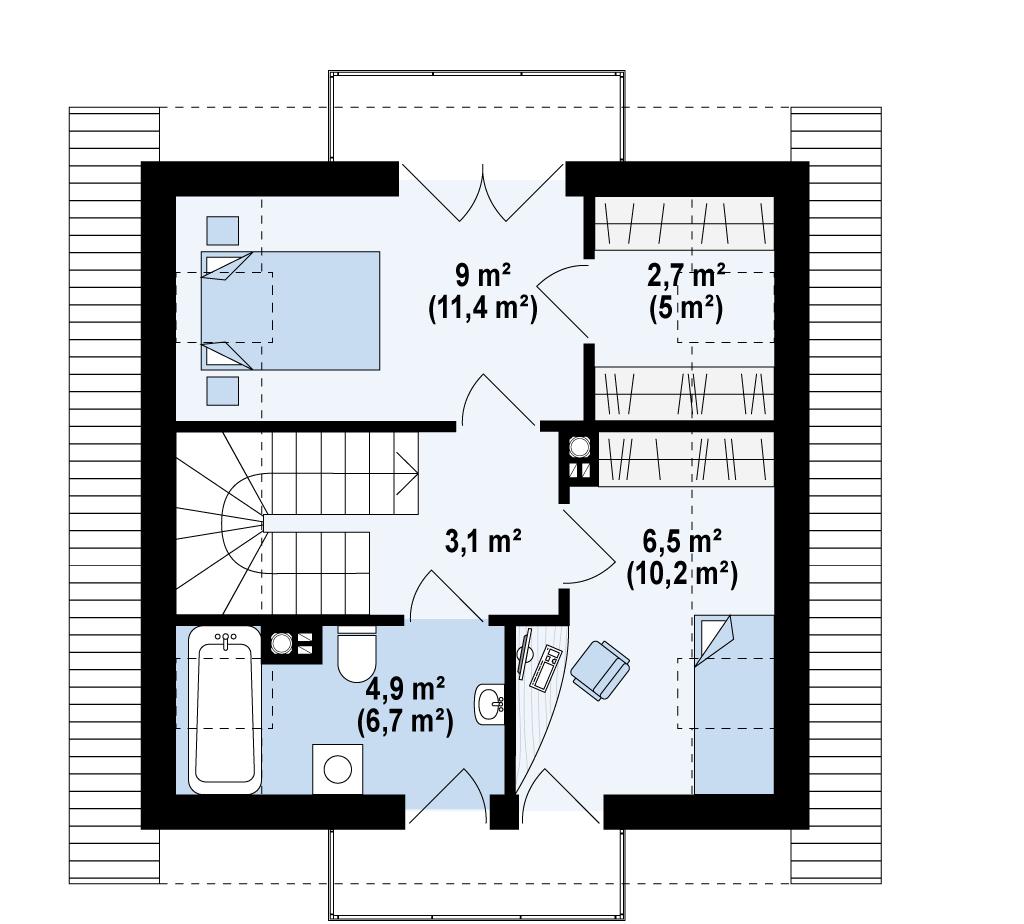 Z264 планировка 3