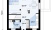 Планировака дома Z264