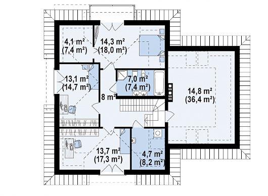 Z284 планировка 3