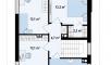 Планировака дома Z295