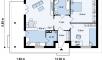 Планировака дома Z55