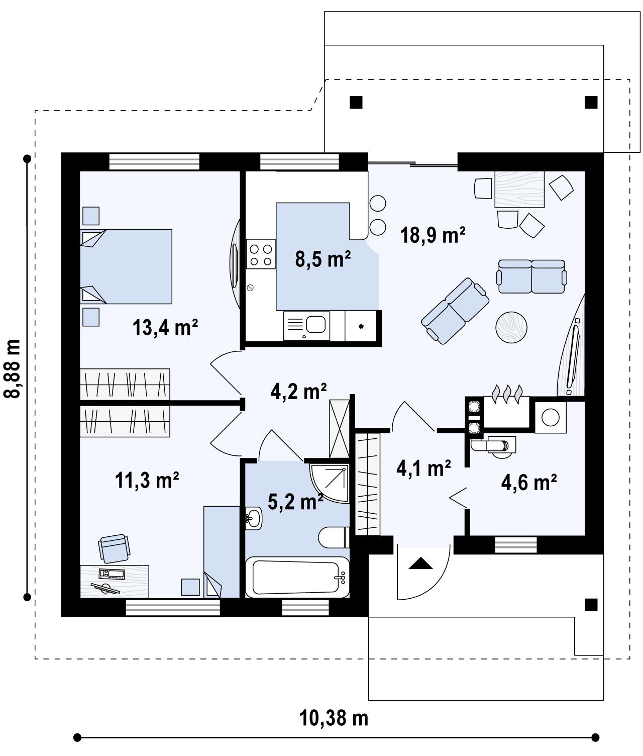 Z78 планировка 2