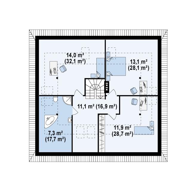 Z84 планировка 2