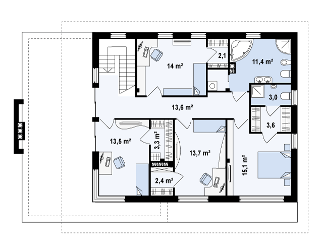 Zx21 планировка 4