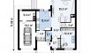 Планировака дома Zx24