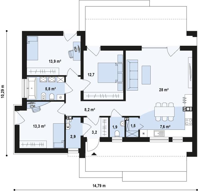 Zx53 планировка 1