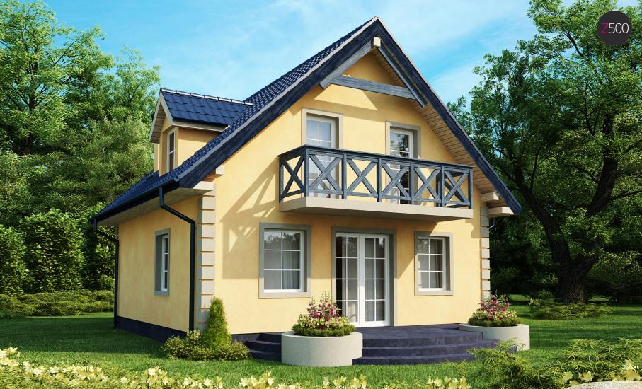 Проект дома Z1 иллюстрация 1