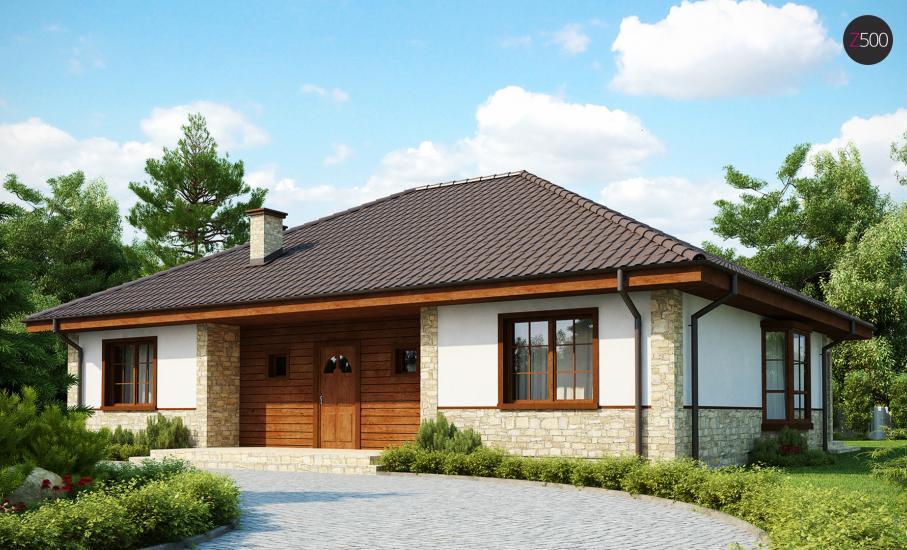 Проект дома Z10 иллюстрация 2