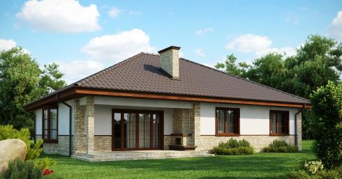 Проект дома Z10 иллюстрация 1