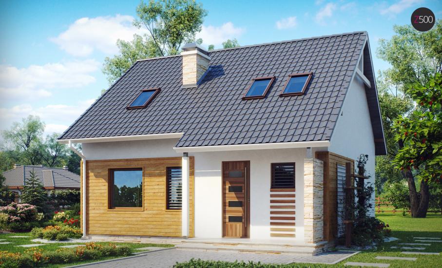 Проект дома Z102 иллюстрация 2