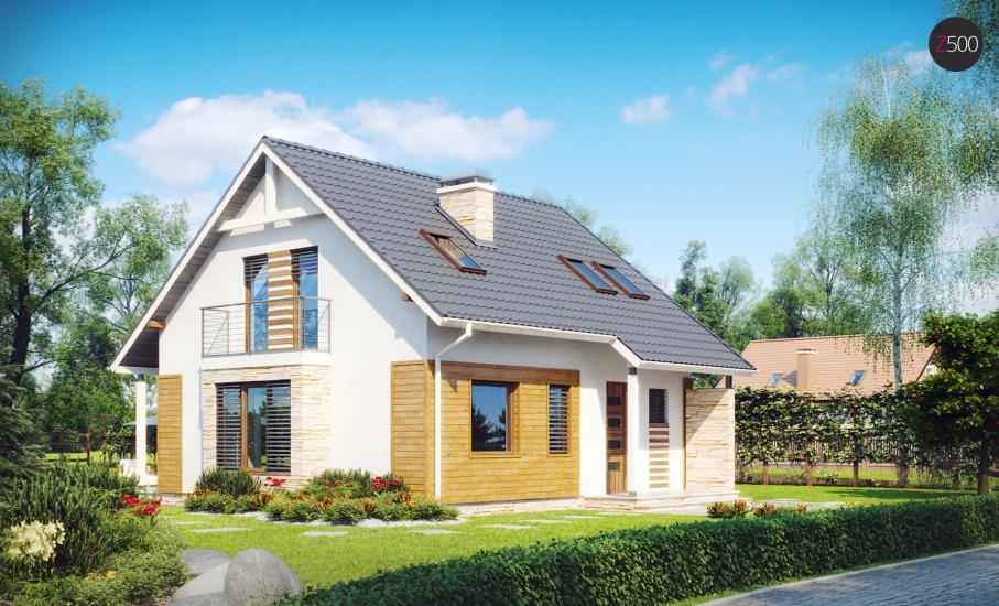 Проект дома Z102 иллюстрация 3