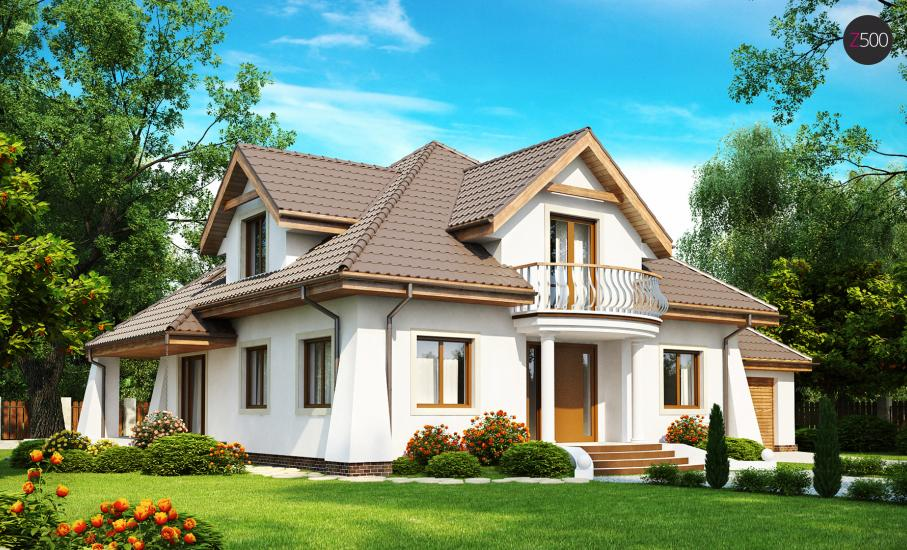 Проект дома Z109 иллюстрация 1
