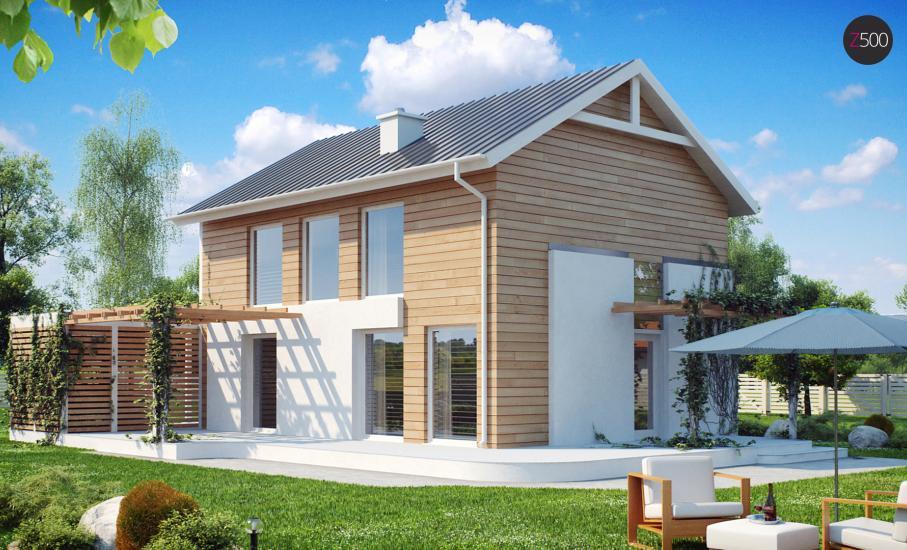 Проект дома Z115 иллюстрация 1