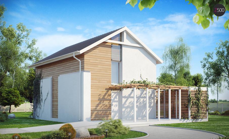 Проект дома Z115 иллюстрация 3