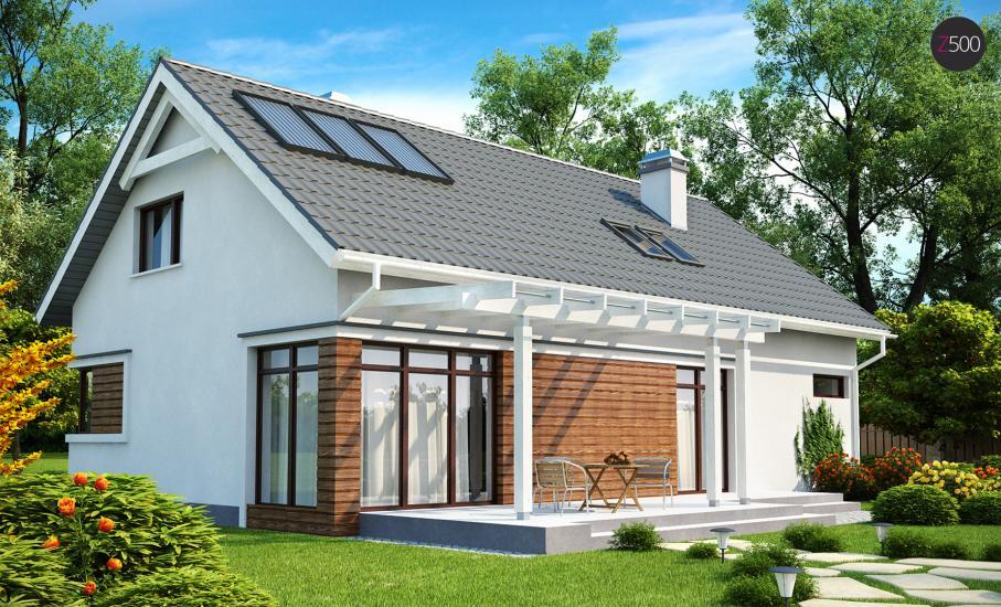 Проект дома Z122 иллюстрация 2