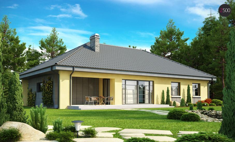 Проект дома Z123 иллюстрация 2