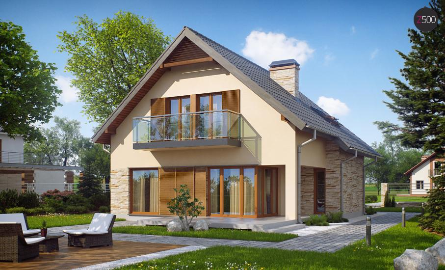 Проект дома Z134 иллюстрация 2