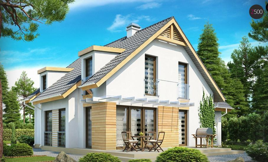 Проект дома Z135 иллюстрация 2