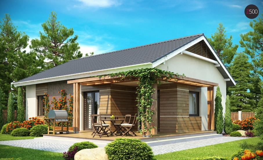 Проект дома Z136 иллюстрация 2