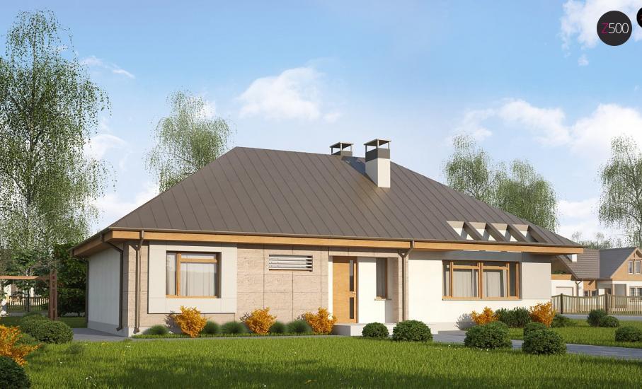 Проект дома Z140 иллюстрация 1