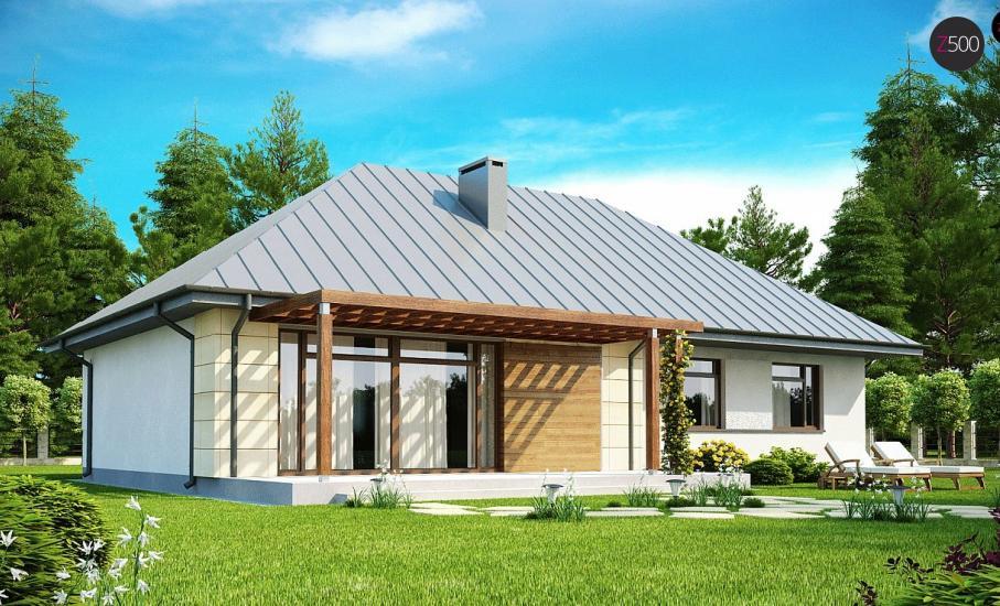 Проект дома Z140 иллюстрация 2