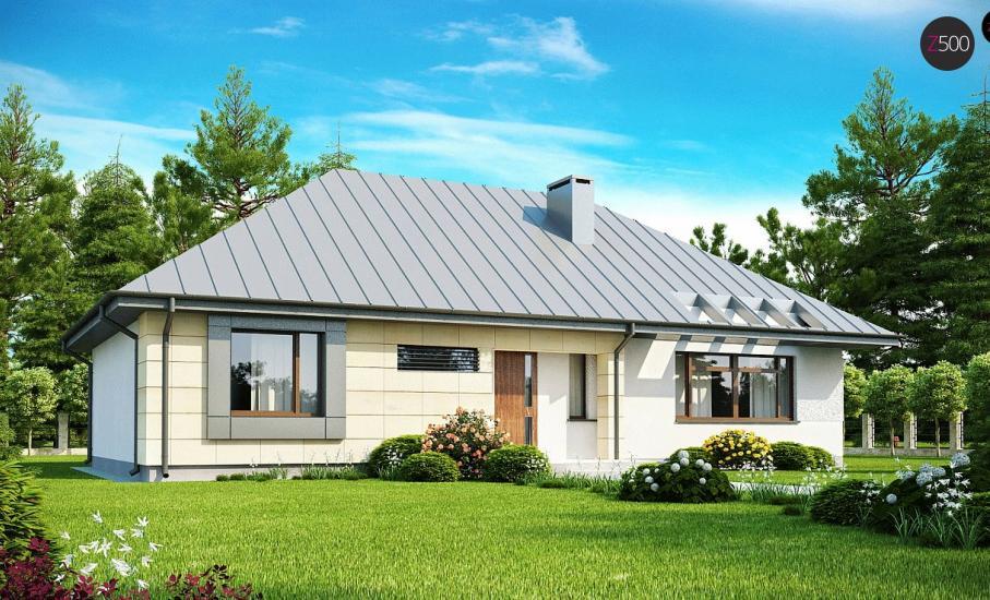 Проект дома Z140 иллюстрация 3