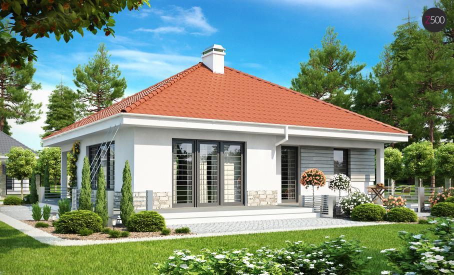 Проект дома Z141 иллюстрация 2
