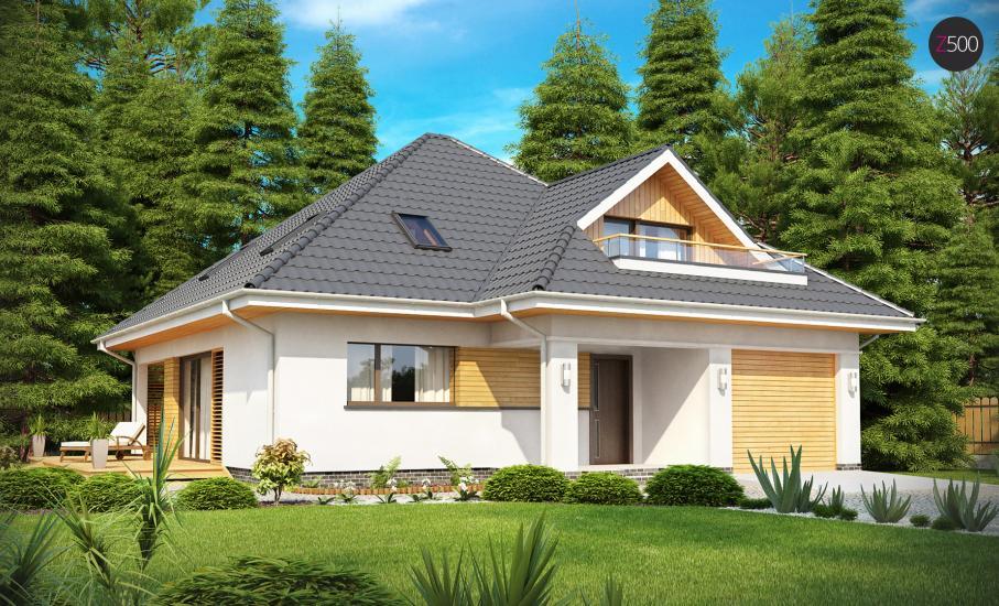 Проект дома Z143 иллюстрация 1
