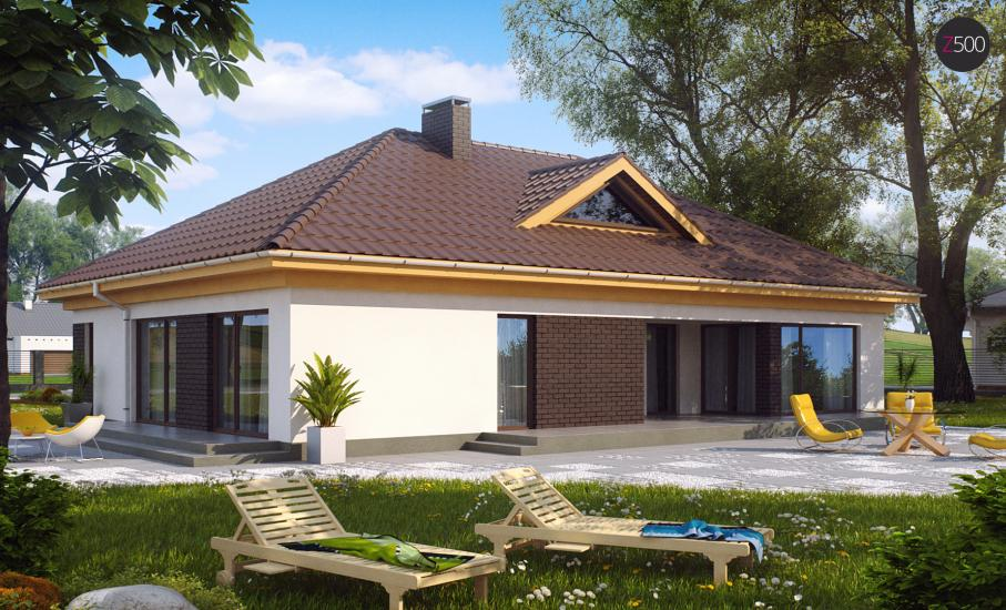 Проект дома Z144 иллюстрация 2