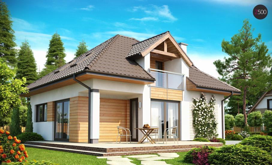 Проект дома Z145 иллюстрация 2