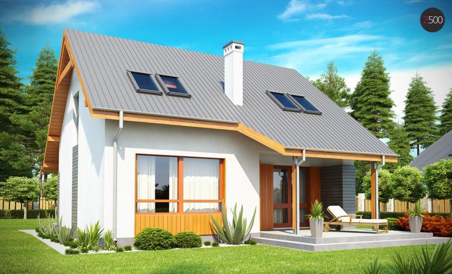 Проект дома Z146 иллюстрация 1