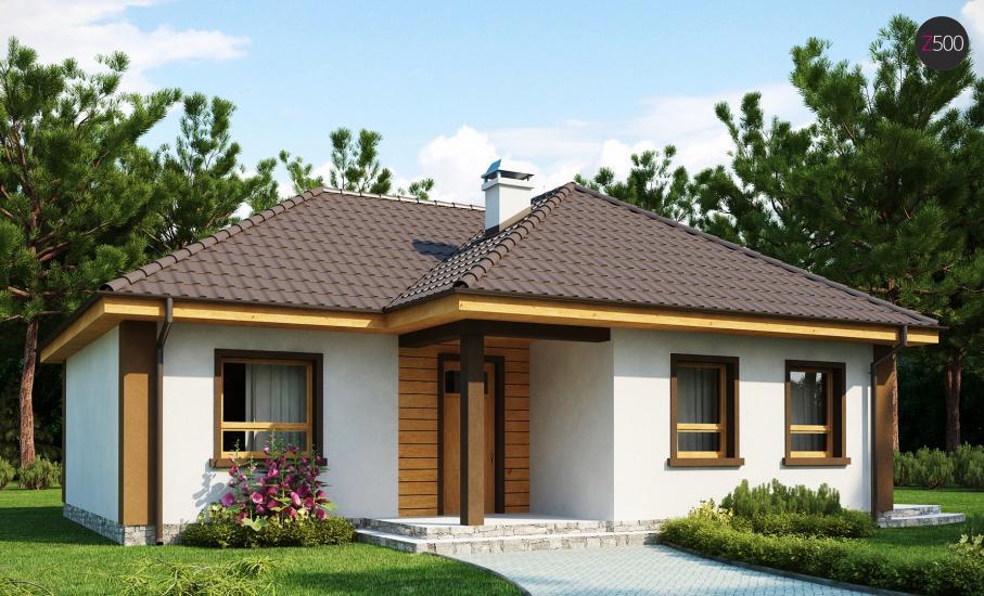 Проект дома Z15 иллюстрация 2