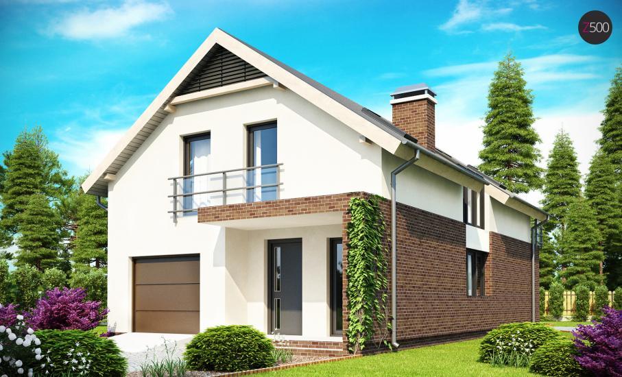 Проект дома Z154 иллюстрация 1