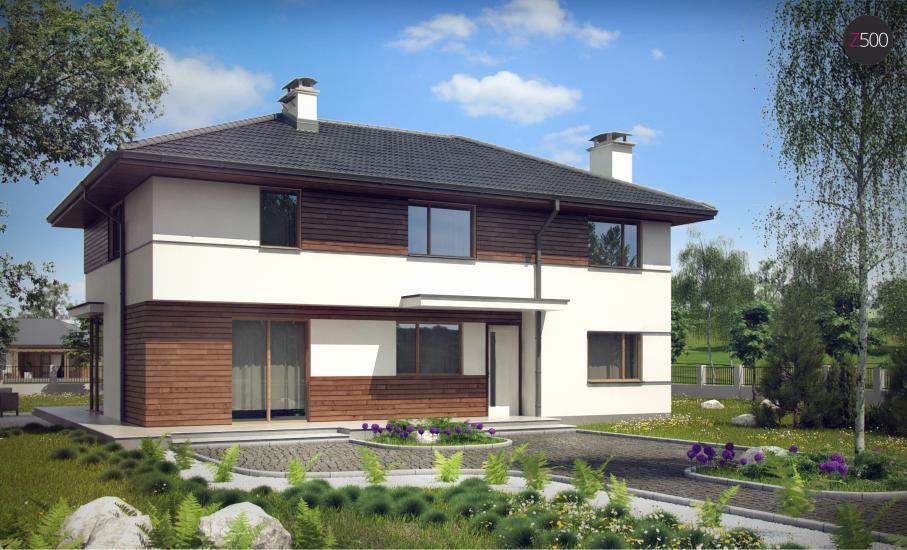 Проект дома Z159 иллюстрация 1